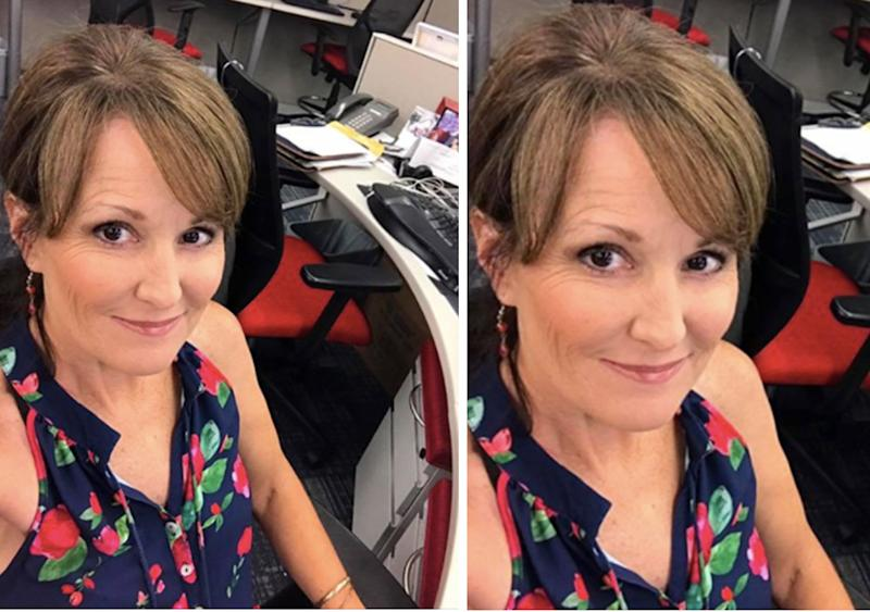 Newscaster MaryAnn Maloney asked people on Facebook whether her top was appropriate for TV. (Photo: Mary-Ann Maloney KFVS)