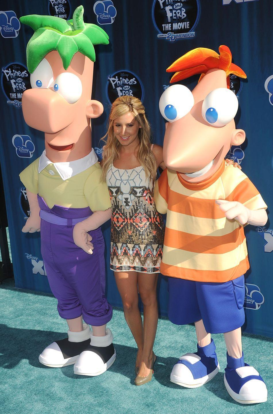 <p>The <em>High School Musical </em>star also voiced tattletale sister Candace on the Disney Channel series <em>Phineas & Ferb</em>.</p>