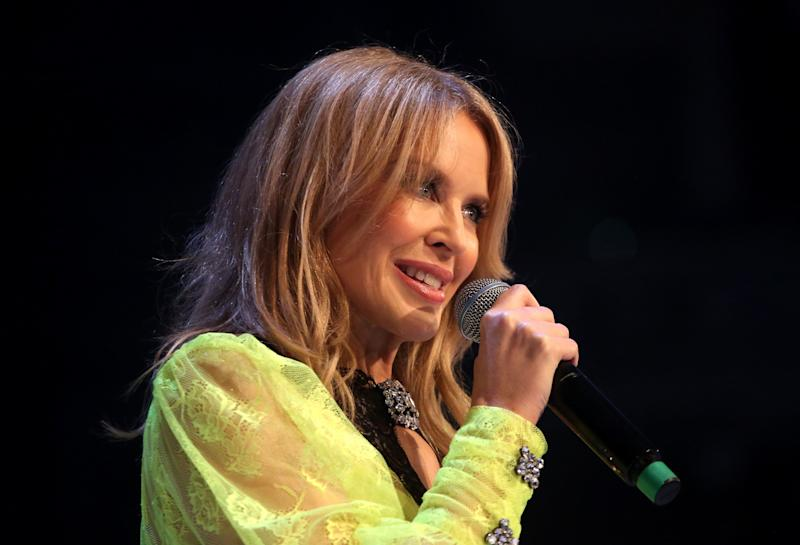 Kylie Minogue and her family donated $500,000 to firefighting efforts. (Photo: Lia Toby/BFC via Getty Images)