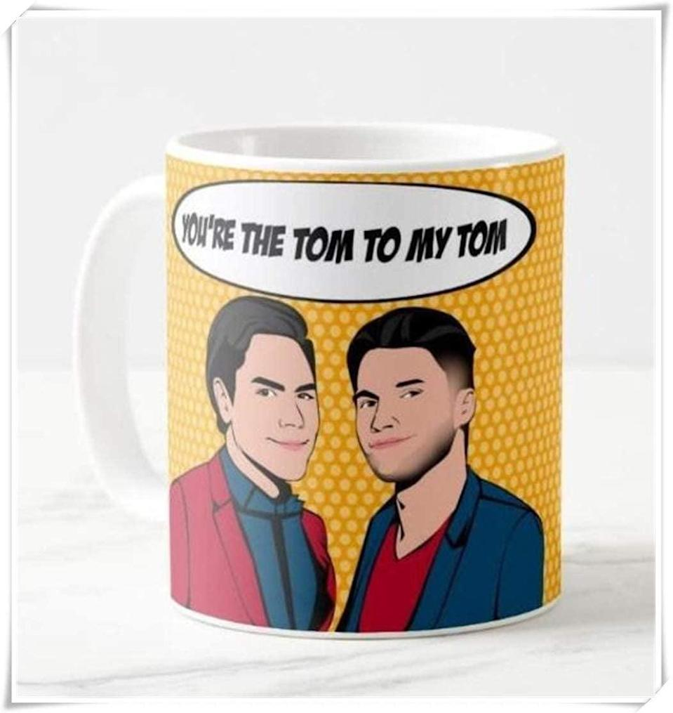 <p>You know the friendship is real if you get the <span>Tom Sandoval & Tom Schwartz Mug</span> ($15). </p>