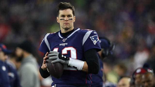 It's nice to envision Tom Brady leaving the New England Patriots but we don't see it happening. (Maddie Meyer/Getty Images)