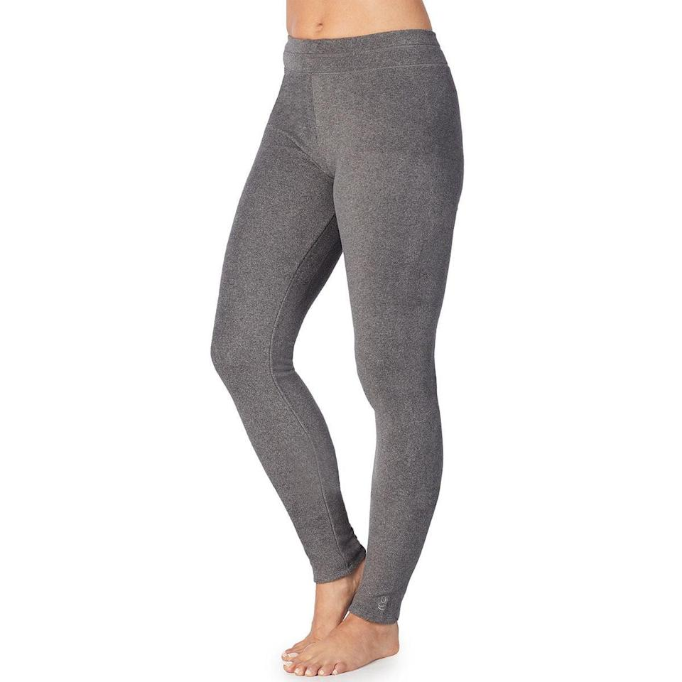 <p><span>Cuddl Duds Fleece Wear Stretch Leggings</span> ($30) have over a hundred five-star reviews and come in sixteen different colorways.</p>