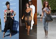 <p>Amongst all of the rising trends, the report names a number of declining ones, such as drop-crotch pants, see-through clothes and acid-wash jeans. Sorry Alicia Keys, Kim Kardashian and Ashley Tisdale, but I think we can live without them. </p>