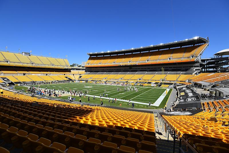 PITTSBURGH, PA - SEPTEMBER 20: A general view of Heinz Field during the game between the Denver Broncos and the Pittsburgh Steelers at Heinz Field on September 20, 2020 in Pittsburgh, Pennsylvania. (Photo by Joe Sargent/Getty Images)