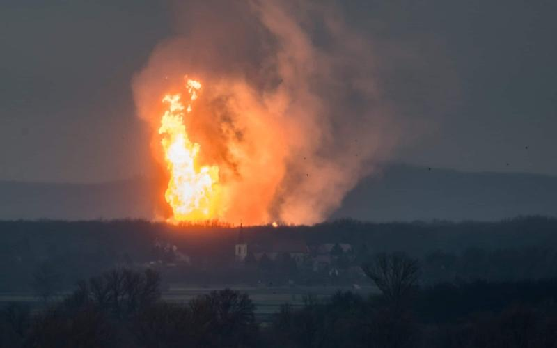 The explosion which ripped through Austria's gas pipeline hub has ignited price surges across European energy markets - REUTERS