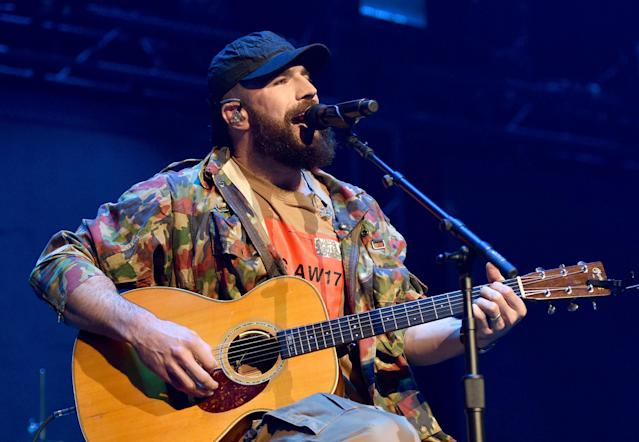 "<p>""Body Like a Back Road"" topped Billboard's Hot Country Songs chart for a record-breaking 34 weeks. No matter. It lost Best Country Song and Best Country Solo Performance to a pair of Chris Stapleton songs (""Broken Halos"" and ""Either Way,"" respectively). (Photo: John Shearer/Country Rising/Getty Images) </p>"