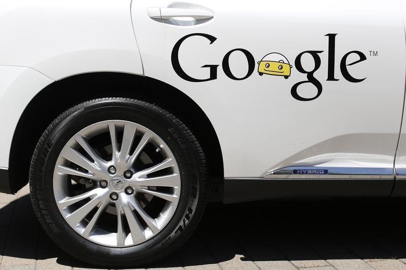 Google presents self-driving car in Mountain View