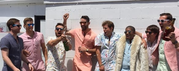 The internet has a lot to say about the RompHim — aka the romper for men