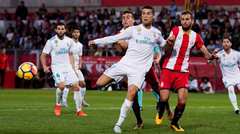 Ronaldo hits four goals as Madrid beat Girona 6-3