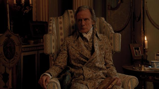 Bill Nighy as Emma's father Mr. Woodhouse. (Focus Features)
