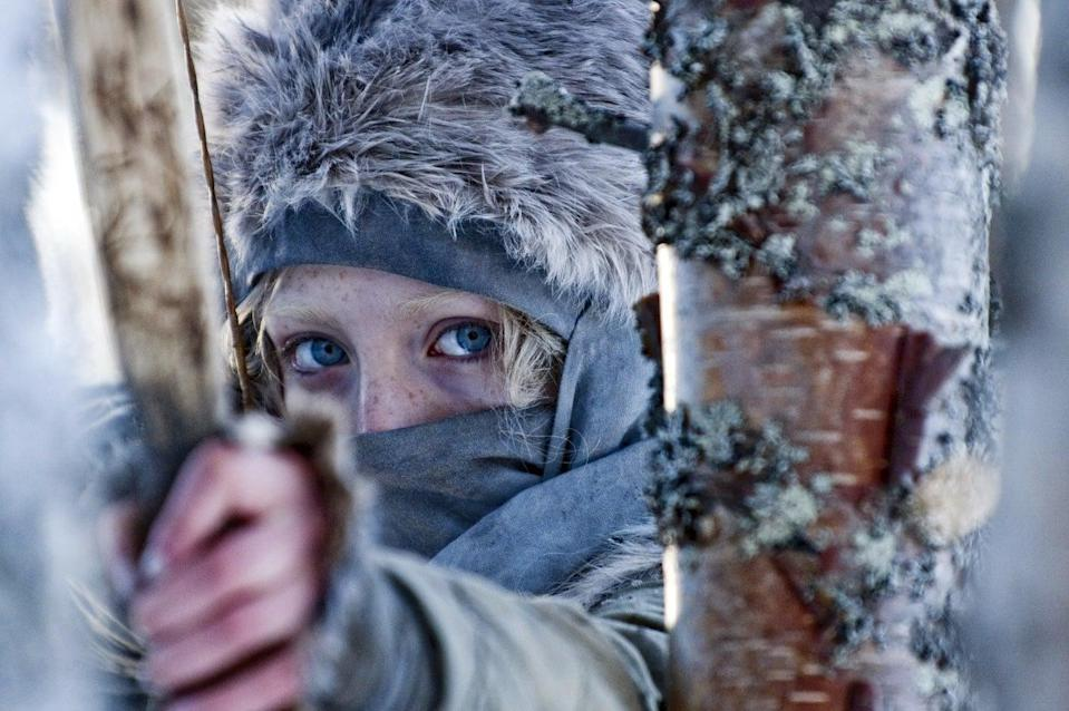 <p>Saoirse Ronan plays Hanna, one tough 16-year-old. Raised by her father in snowy isolation, she's become the perfect assassin and when her father leaves, her skills are put the the test. </p>