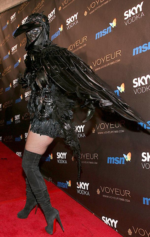 WEST HOLLYWOOD, CA - OCTOBER 31: Heidi Klum arrives to her 10th Annual Halloween party held at Voyeur on October 31, 2009 in West Hollywood, California. (Photo by Michael Tran/FilmMagic)