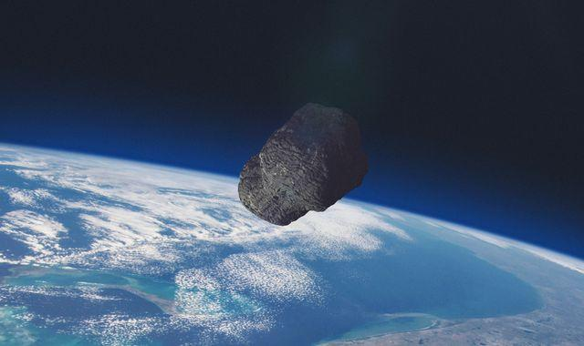 Asteroid makes closest fly-by of Earth on record - and NASA didn't see it until after the close shave