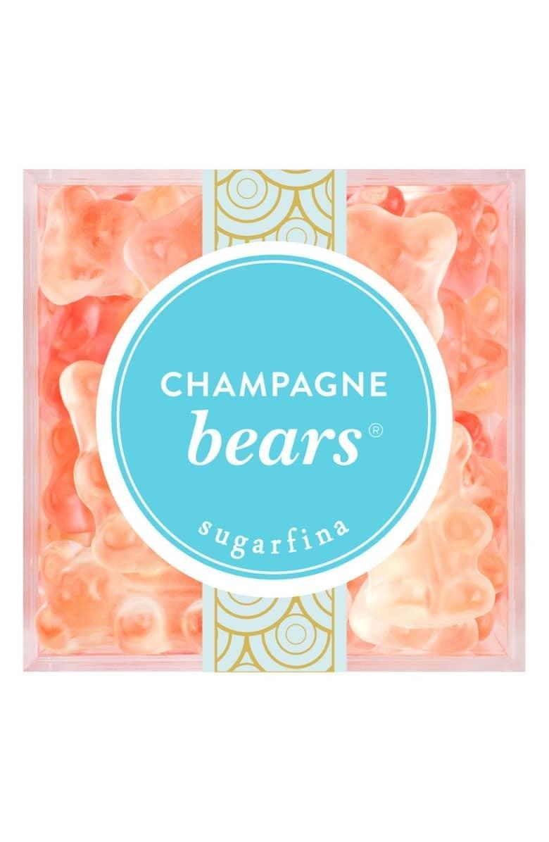 <p>We all know someone who needs this <span>Sugarfina Champagne Bears Large Candy Cube</span> ($20).</p>