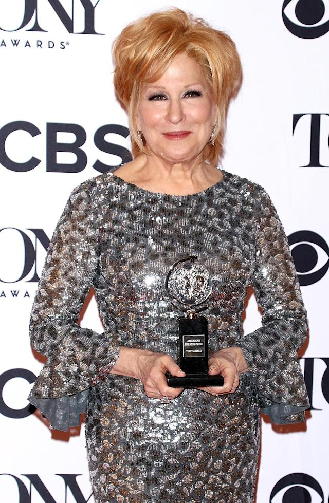"""<p>Bette Midler is one of the unlucky women who can say the president of the United States has attacked her over her appearance. Midler isn't exactly shy in bashing Trump and the former reality star hasn't held back in verbal retaliation. <a href=""""https://twitter.com/realdonaldtrump/status/262583859709882369?lang=en"""" rel=""""nofollow noopener"""" target=""""_blank"""" data-ylk=""""slk:One read tweet read"""" class=""""link rapid-noclick-resp"""">One read tweet read</a>, """"@bettemidler talks about my hair but I'm not allowed to talk about her ugly face or body — so I won't. Is this a double standard?"""" He has also tweeted, """"While @BetteMidler is an extremely unattractive woman, I refuse to say that because I always insist on being politically correct."""" (Photo by Jim Spellman/WireImage) </p>"""