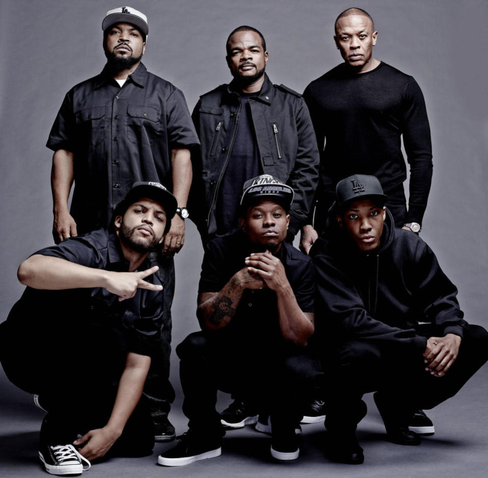 <p>For five consecutive weeks in August and September, movies with African-American leads topped the box office. These included <i>Straight Outta Compton </i>(pictured) and two even bigger surprises: the low-budget indies <i>The Perfect Guy </i>and <i>War Room. </i>Other victories for diverse casts included <i>Creed, Furious 7, </i>and <i>Star Wars: The Force Awakens,</i> proving that audiences are hungry for all kinds of heroes. <i>(Image: Universal)</i></p>
