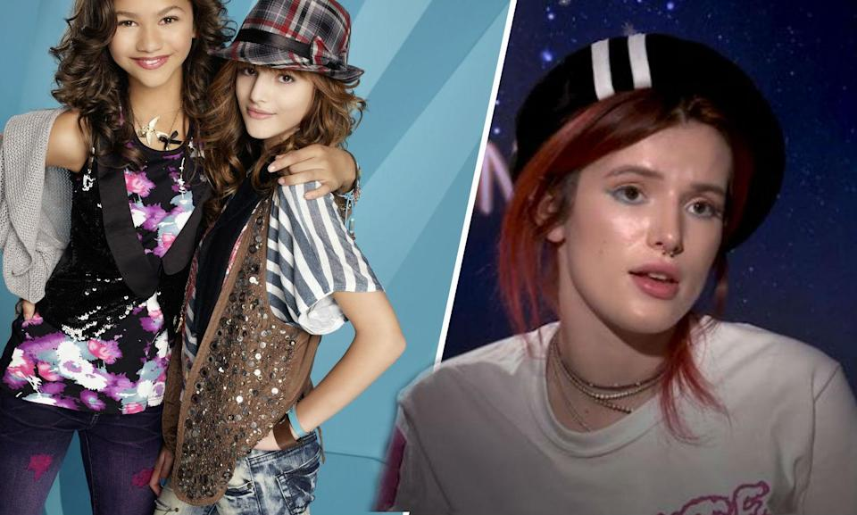 Bella Thorne on having to start again in the acting world after being on the Disney Channel