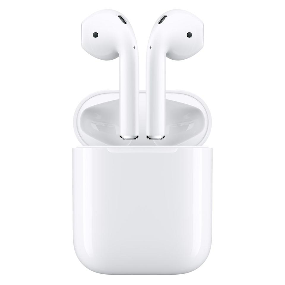 """$159, Amazon. <a href=""""https://www.amazon.com/Apple-AirPods-Charging-Latest-Model/dp/B07PXGQC1Q"""">Get it now!</a>"""