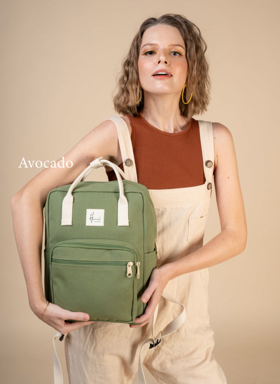 Aki Canvas Backpack (Photo via Etsy)