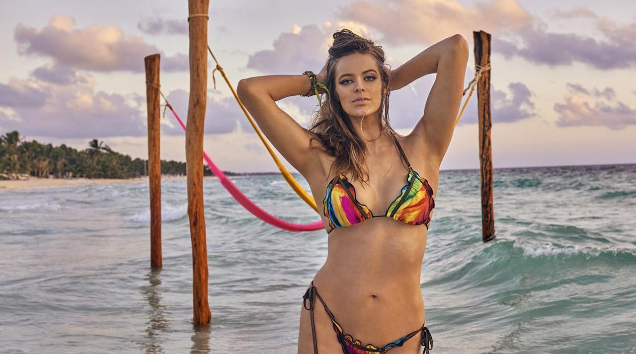 ab7224f443350  p Robyn Lawley was photographed by Ruven Afanador in Mexico. Swimsuit by