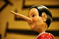 """<p>If you're being honest, lying is probably a big part of your daily life. Even if you're not running a pyramid scheme or cheating on your partner, little """"white lies"""" or """"untruths"""" likely fly out of your mouth as regularly as planes do at JFK Airport. Sometimes it's out of kindness, sometimes it's out of convenience—but either way, it's a lie. And that's the truth.<br></p>"""