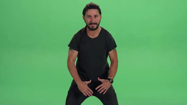 Shia LaBeouf Gave an Insane Motivational Speech...and Became a Hilarious Meme