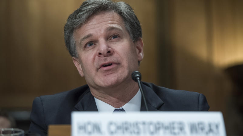 WASHINGTON ― The White House's attempts to explain why it allowed a top aide accused of domestic violence by both of his ex-wives to keep his job took another hit on Tuesday, this time from FBI Director Christopher Wray.