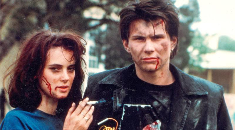 Winona Ryder and Christian Slater in 'Heathers' (RLJE FILMS)