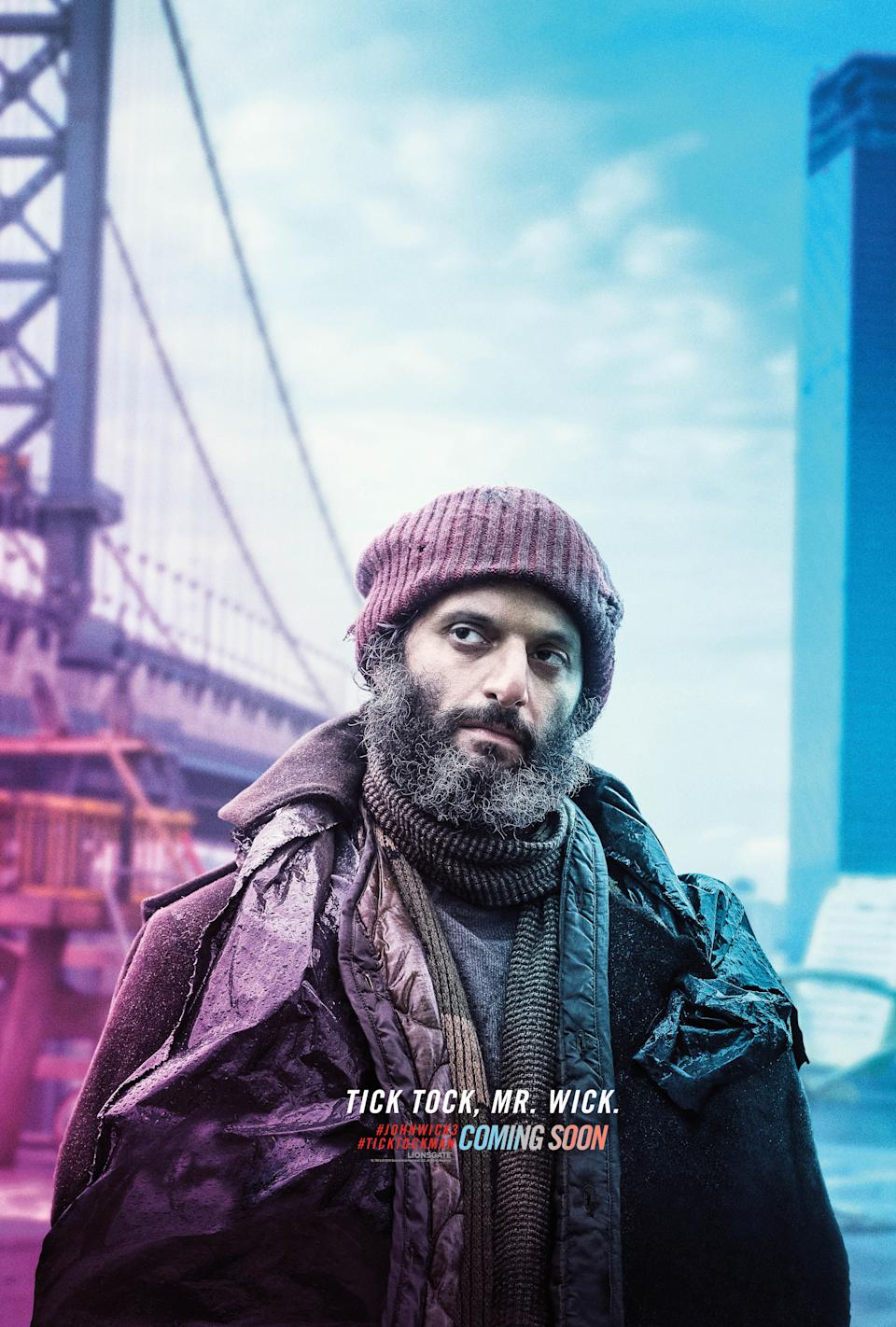<p>Mantzoukas is primarily known for his comedy roles, so it's interesting to see him associated with such a threatening tagline with his new character's name. Could he be playing against type as a dangerous assassin? </p>