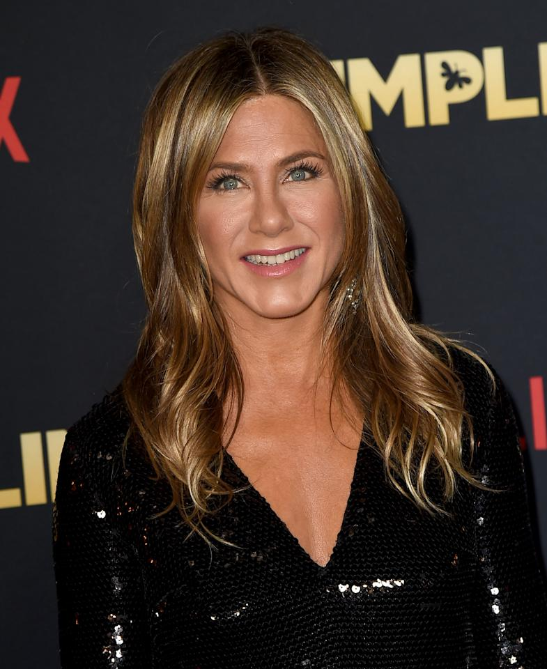 <p>Because there really isn't a more classic — and long-running — example of a quintessential dirty blonde hair color, we give you Jennifer Aniston.</p>