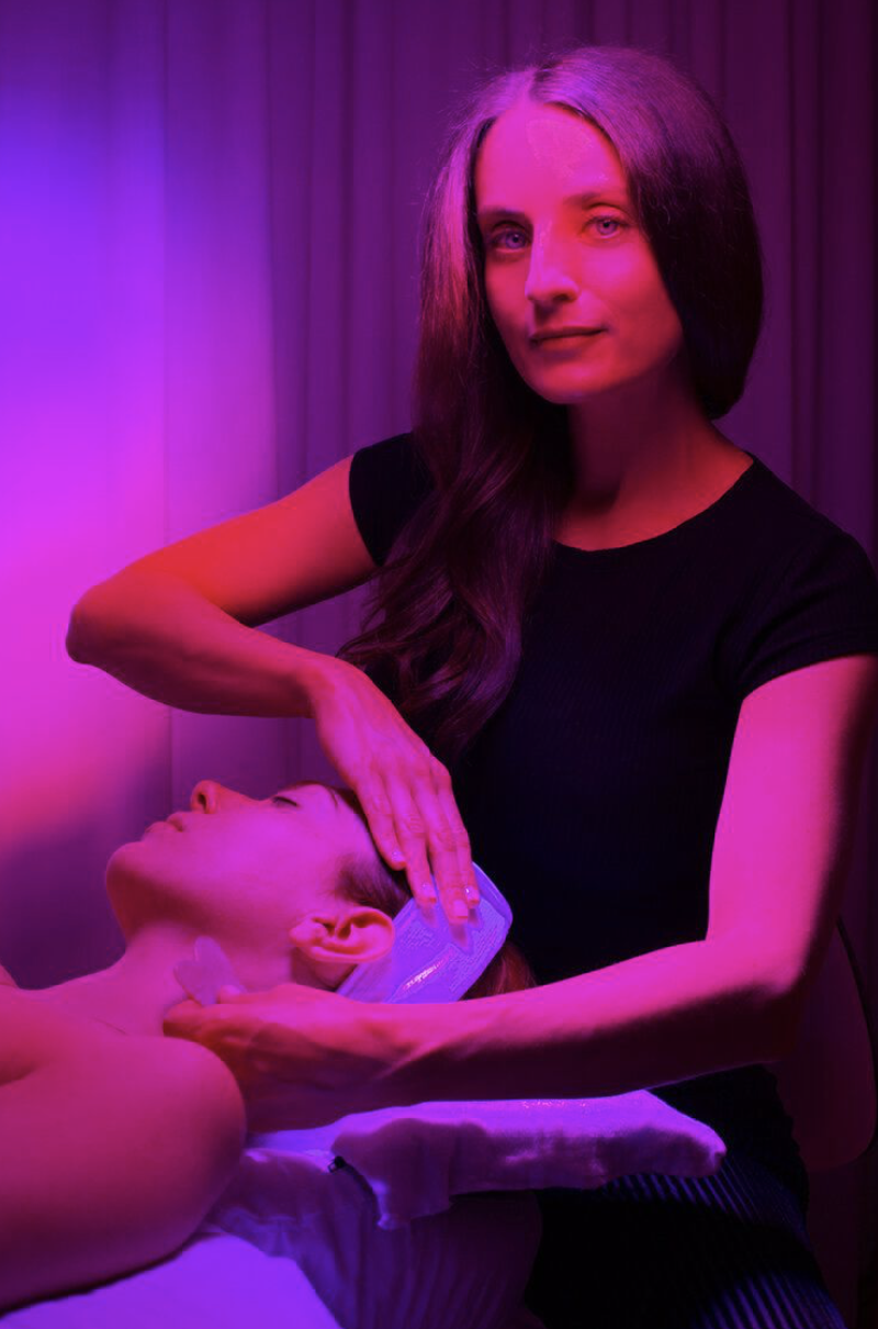 """<p>""""My first appointment I made to celebrate full vaccination was an Acupuncture Facial with Stefanie of <a href=""""https://www.gothamwellness.com"""" rel=""""nofollow noopener"""" target=""""_blank"""" data-ylk=""""slk:Gotham Wellness"""" class=""""link rapid-noclick-resp"""">Gotham Wellness</a>. My skin always looks incredible after, but it's the full-body zen that comes with it that has me hooked and coming back for more."""" <em>—Roxanne Adamiyatt, Senior Digital Editor</em></p>"""