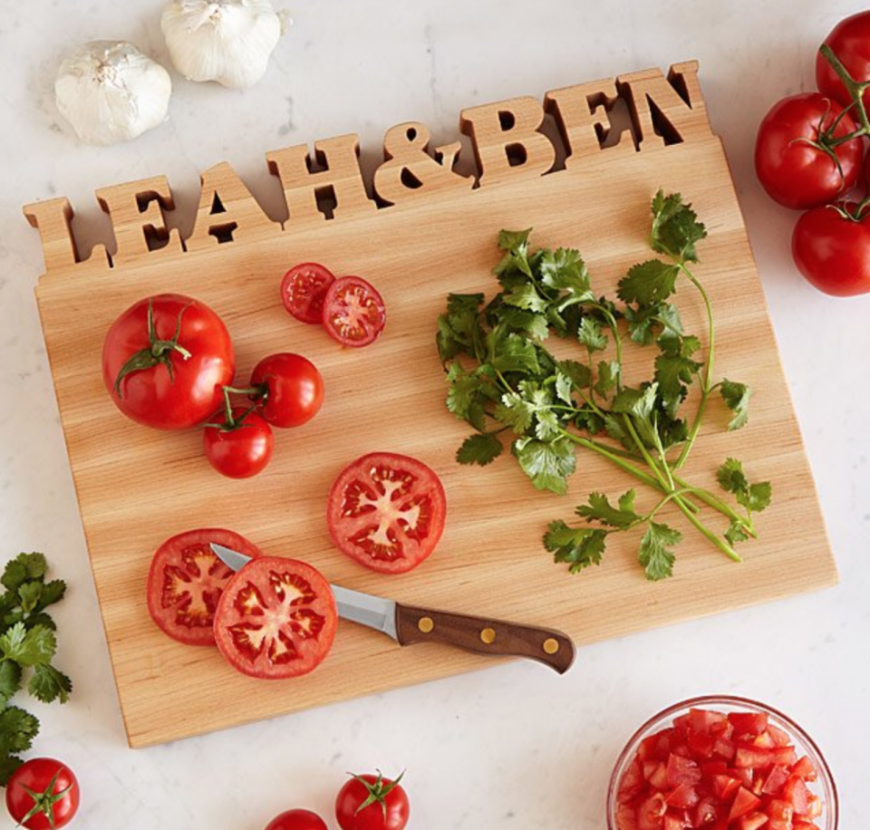 Uncommon Goods Personalized Cutting Board