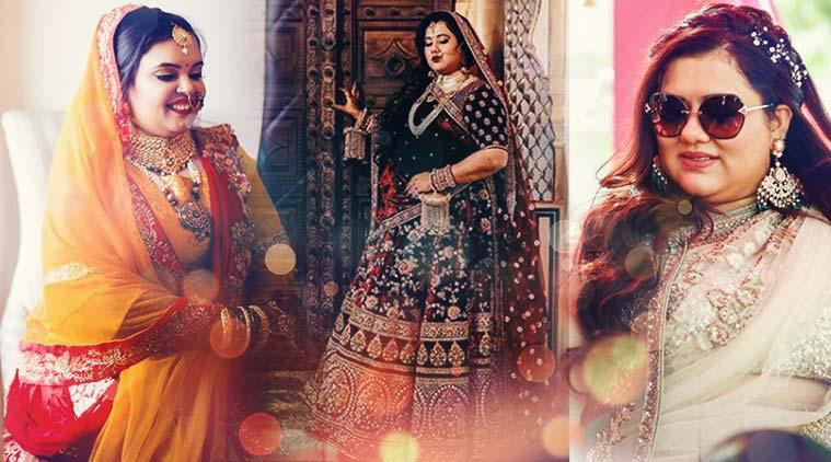 plus size bride, plus size wedding outfits, wedding lehenga, how to find perfect wedding outfits, indian express news