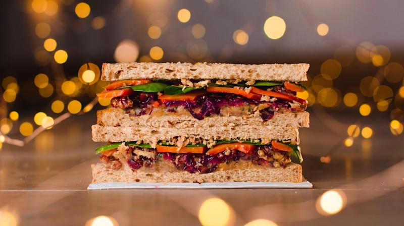 More than half a million people in the UK now follow a vegan diet and retailers are finally cottoning on to the fact that there's more to Christmas than turkey.