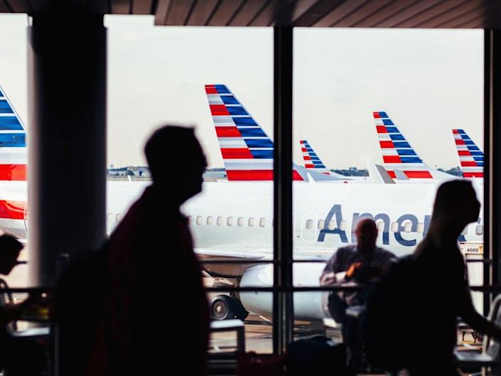 The incident occurred on an American Airlines flight (Getty Images)
