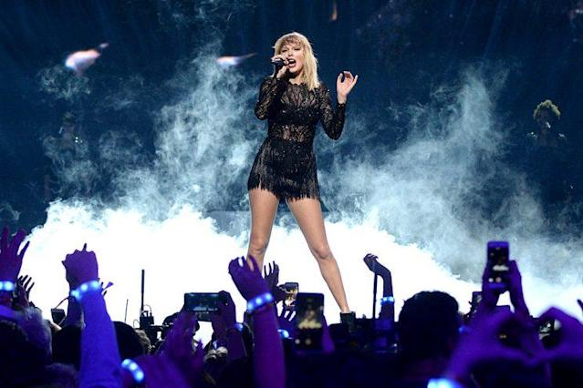 Taylor Swift has been keeping a low profile. (Photo: Kevin Mazur/Getty Images for DIRECTV)