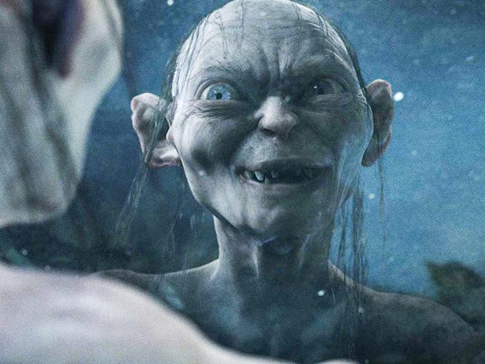 gollum the lord of the rings