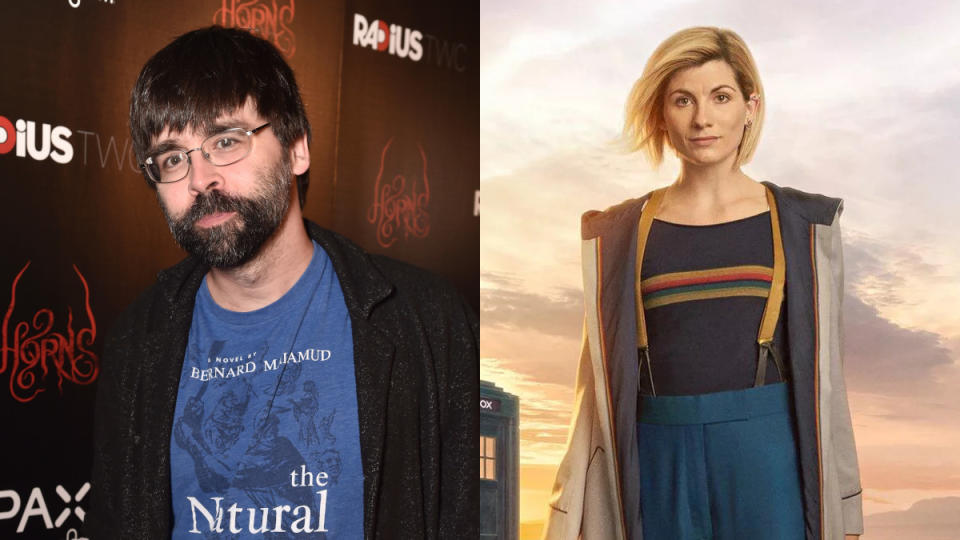 Joe Hill is keen to write an episode of 'Doctor Who'. (Credit: Alberto E. Rodriguez/Getty Images/BBC)