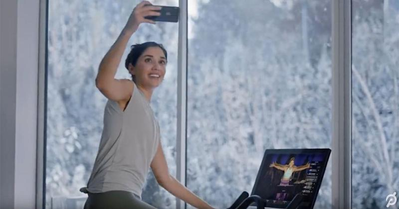 Peloton Sinks Again as It Stands up for Controversial Ad — NewsBreak