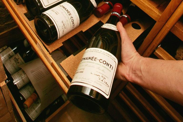 Romanee-Conti from France's Burgundy region is one of the world's most expensive wines