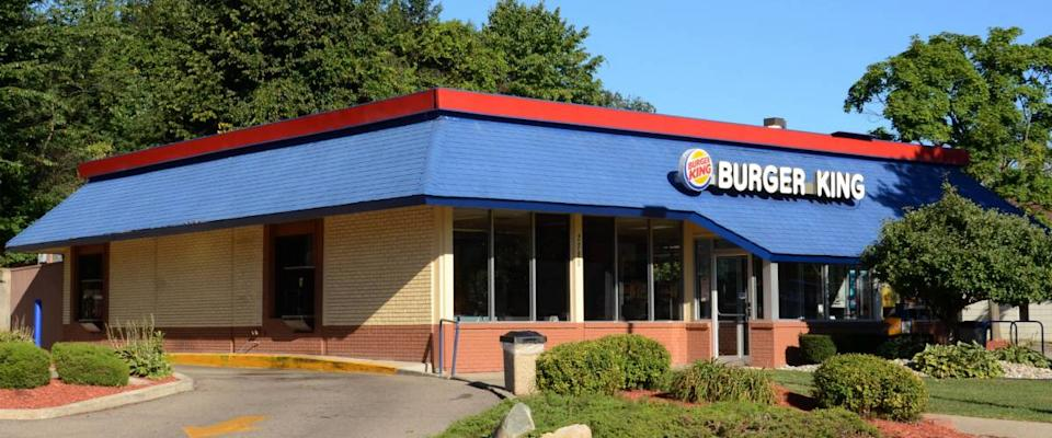 ANN ARBOR, MI - SEPTEMBER 7: Burger King, whose west Ann Arbor store is shown on September 7, 2014, serve more than 11 million people around the world daily.