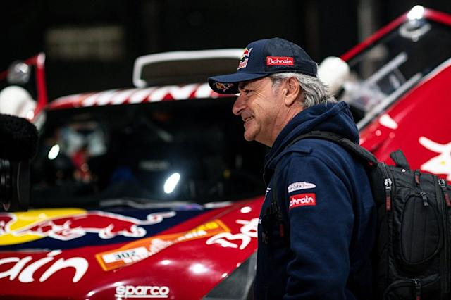 "#305 JCW X-Raid Team: Carlos Sainz <span class=""copyright"">Red Bull Content Pool</span>"