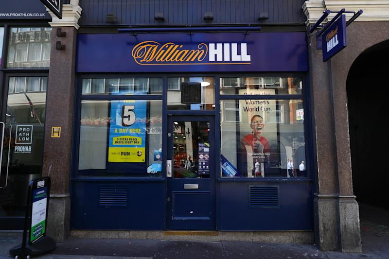 File photo dated 04/07/19 of a branch of William Hill on Ludgate Hill, in central London, as the betting giant has posted 2019 profits ahead of expectations, despite closing more than 700 betting shops. The company reported a 52% decline in adjusted pre-tax profits to 96.5 million pound for the year to December 31.