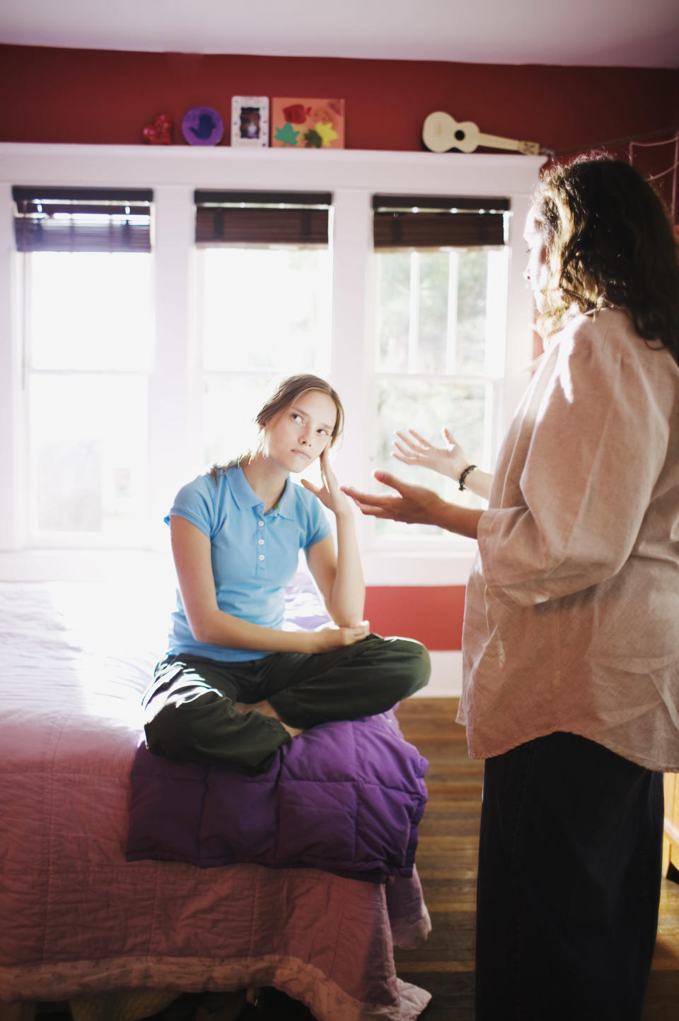Five steps to healing the relationship with your teenager. (Photo: Getty Images)