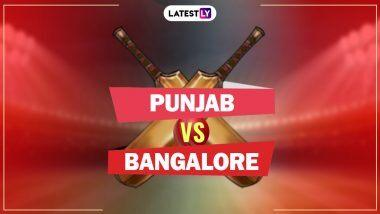 RCB 3/2 in 1.3 Over (Target 207 Runs) | KXIP vs RCB Live Score Updates IPL 2020: Mohammad Shami Strikes, Josh Philippe Departs