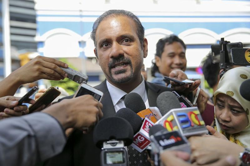 DAP's Ramkarpal Singh (pic) says Tan Sri Muhammad Shafee Abdullah must clarify whether he received RM9.5 million from Datuk Seri Najib Razak. — Picture by Yusof Mat Isa