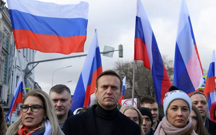 Alexei Navalny has vowed to return to Russia when he is well enough - Kirill Kudryavtsev/AFP