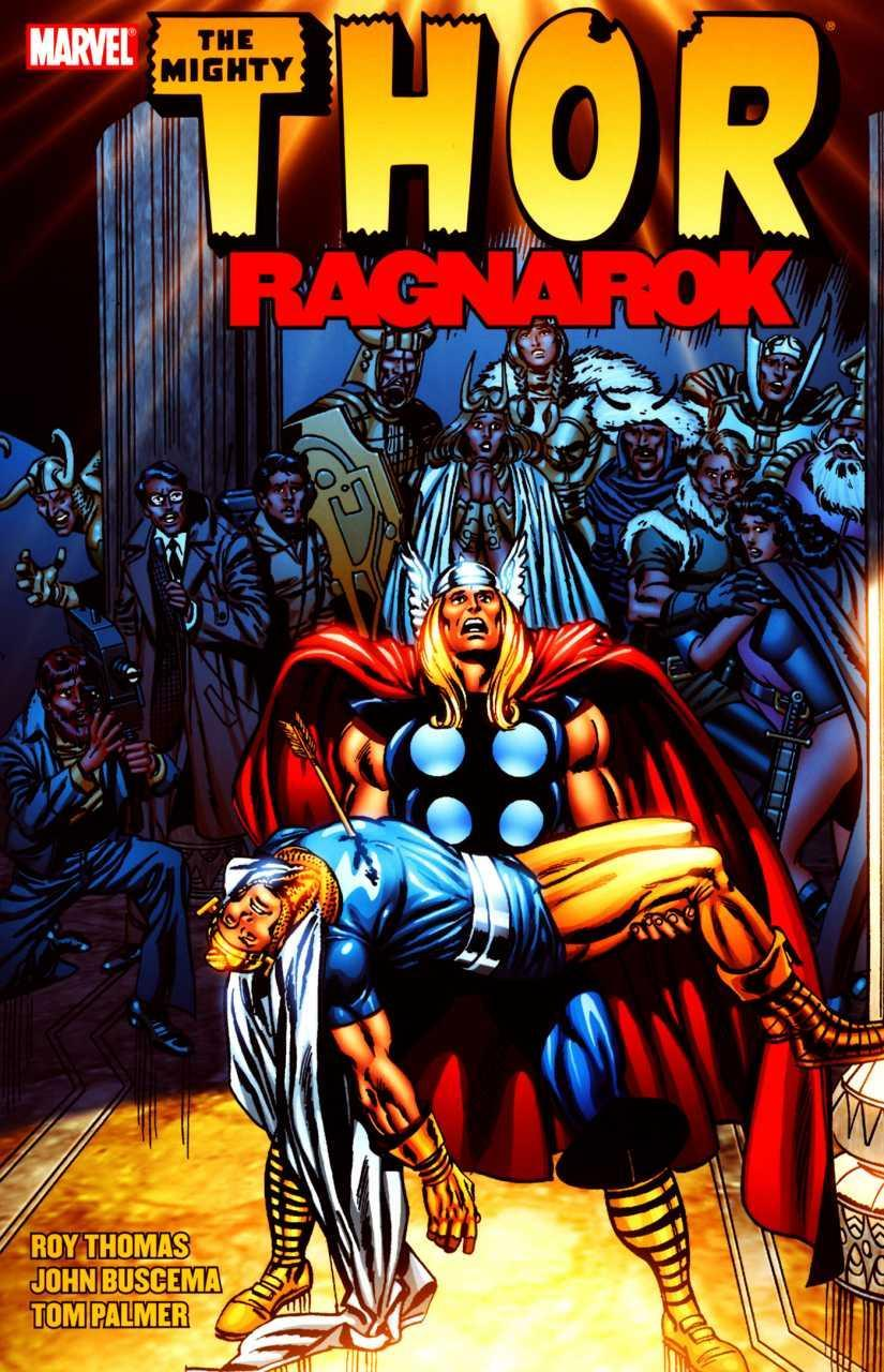 """The cover of the Roy Thomas-penned """"Raganok"""" arc in <i>The Mighty Thor.</i> (Image: Marvel Comics)"""