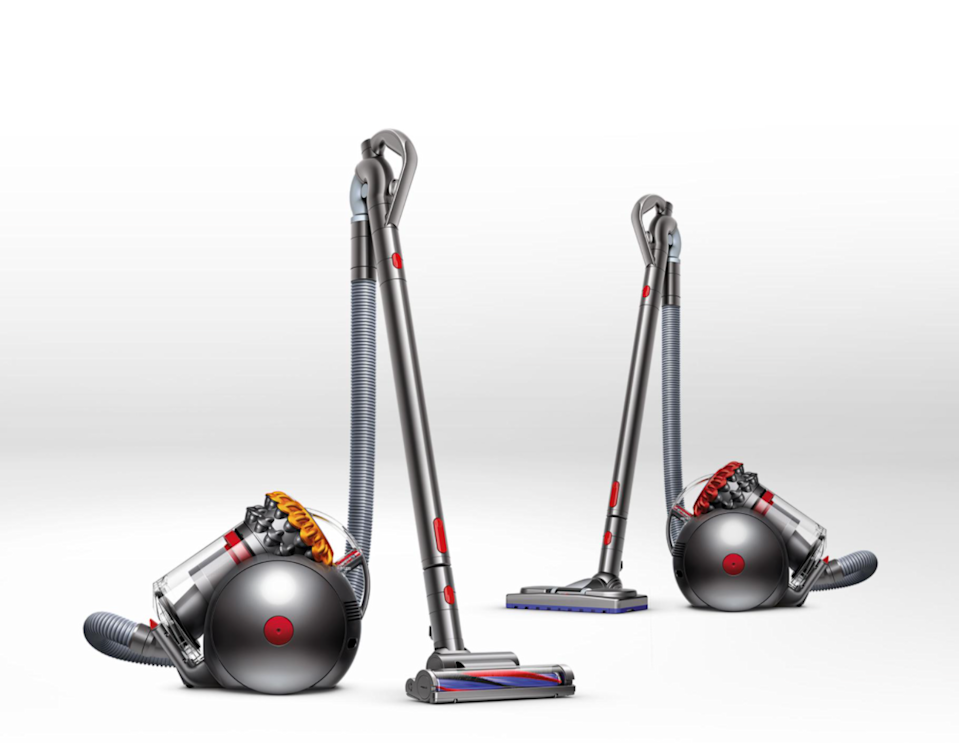 """<br><br><strong>Dyson</strong> Big Ball Multi Floor Vacuum Cleaner, $, available at <a href=""""https://go.skimresources.com/?id=30283X879131&url=https%3A%2F%2Ffave.co%2F35mzDvW"""" rel=""""nofollow noopener"""" target=""""_blank"""" data-ylk=""""slk:Dyson"""" class=""""link rapid-noclick-resp"""">Dyson</a>"""