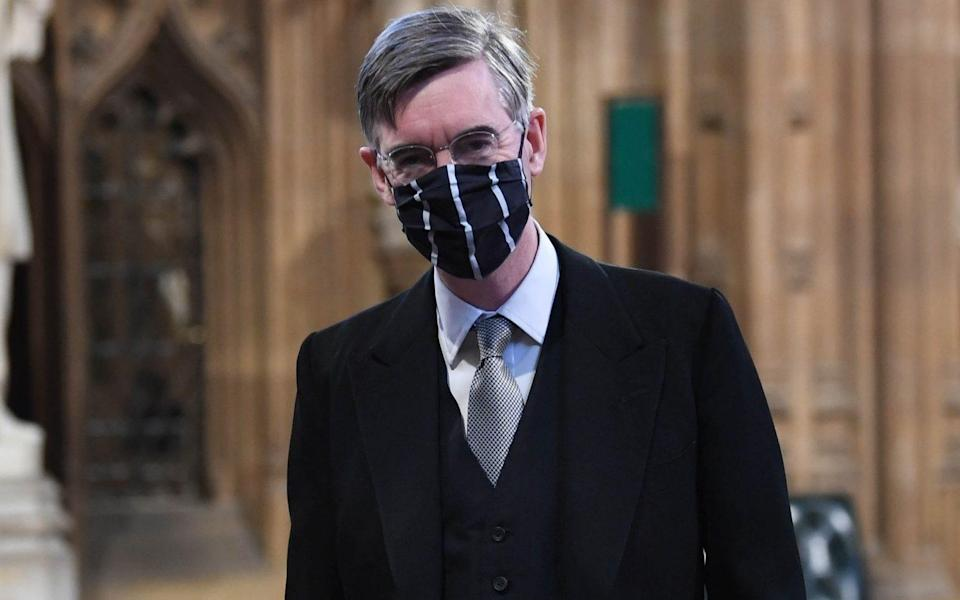 Jacob Rees-Mogg had voiced concern about the 'total triage' proposal -  Stefan Rousseau/ PA